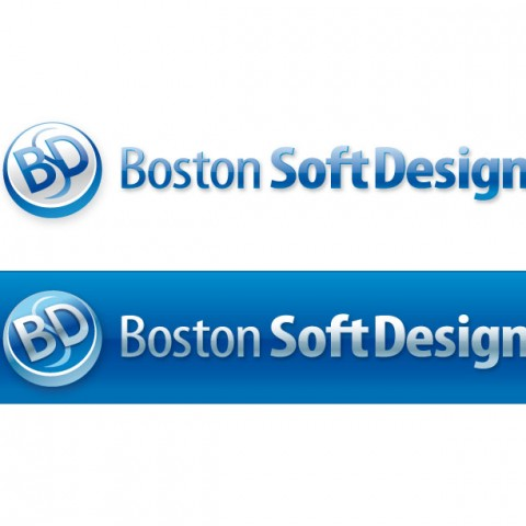 """Логотип ростовской компании """"Бостон Софт Дизайн"""""""