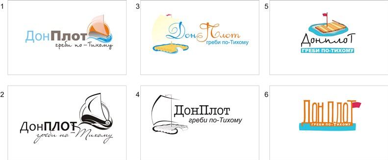 Дизайн лого сайта Донплот
