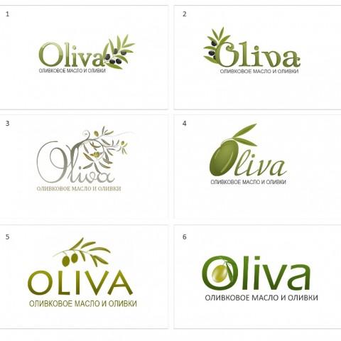 Разработка логотипа магазина Oliva в Ростове