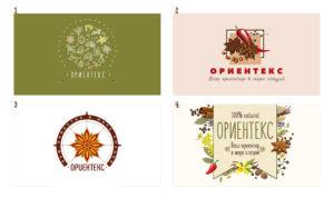 Создание дизайна логотипа для компании Ориентекс