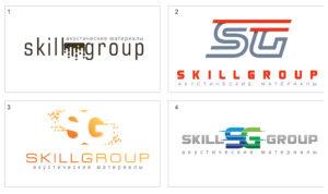 Создание логотипа для компании Skill Group