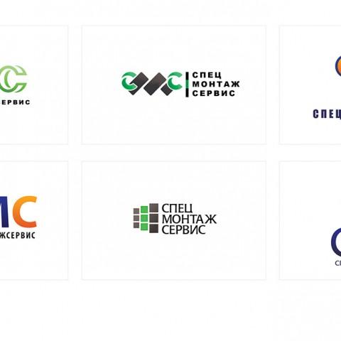Разработка логотипа для компании «СПЕЦМОНТАЖ» в Ростове-на-Дону