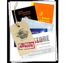 Фирменная визитная карточка (визитка)