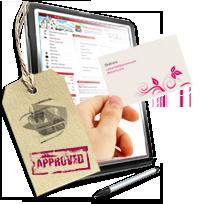 Сайт-визитка, создать сайт